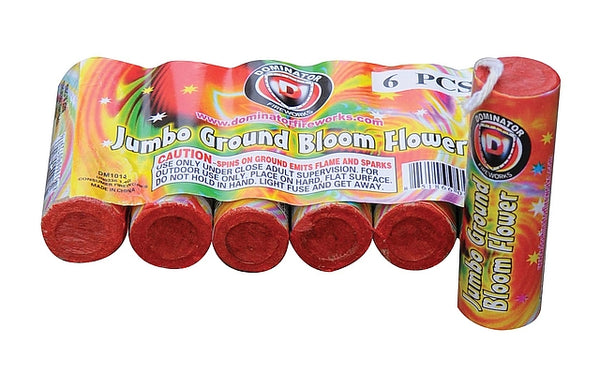 Jumbo Ground Bloom - Jeff's Fireworks