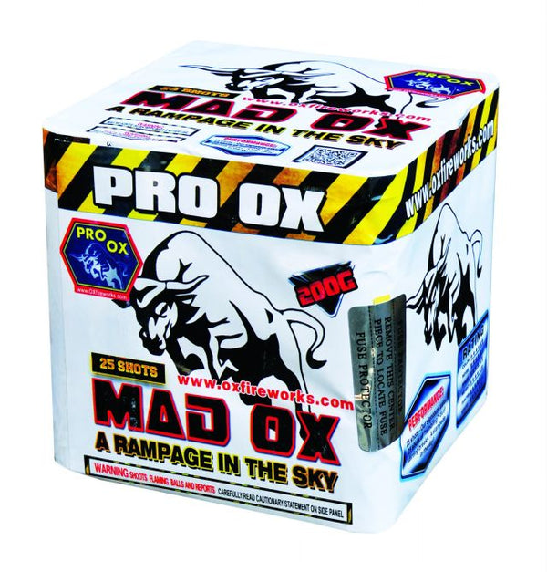 Mad Ox - A Rampage in the Sky - Jeff's Fireworks