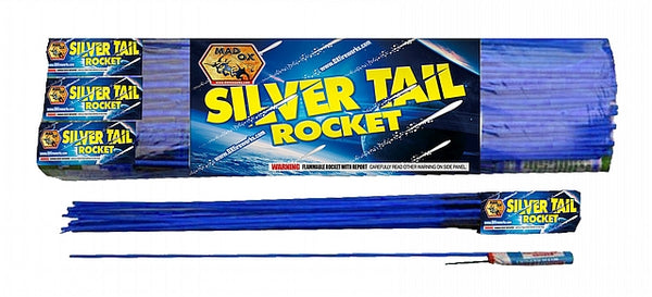 Silver Tail Rocket - Jeff's Fireworks