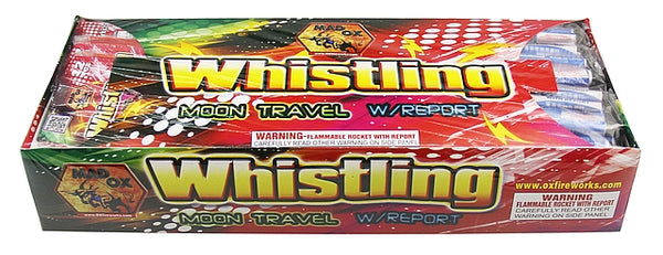 Whistling Moon Travel w/ Report - Jeff's Fireworks