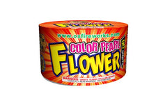 96 Shot Color Pearl Flower - Jeff's Fireworks