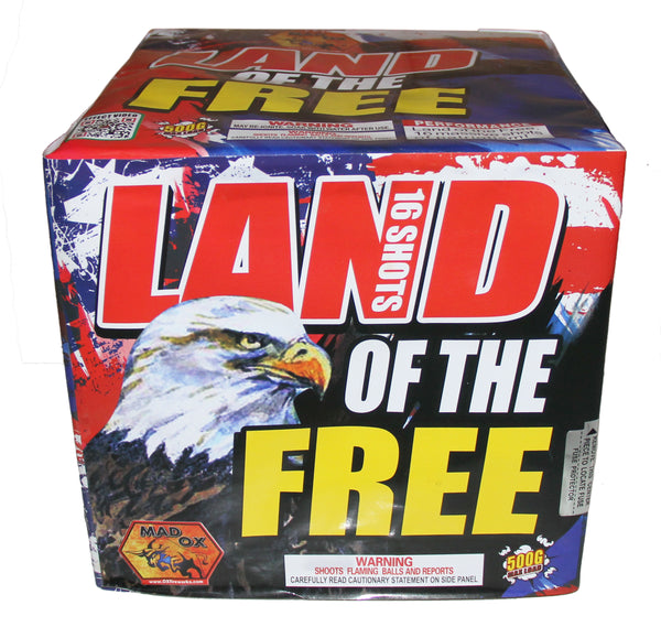 Land of the Free - Jeff's Fireworks