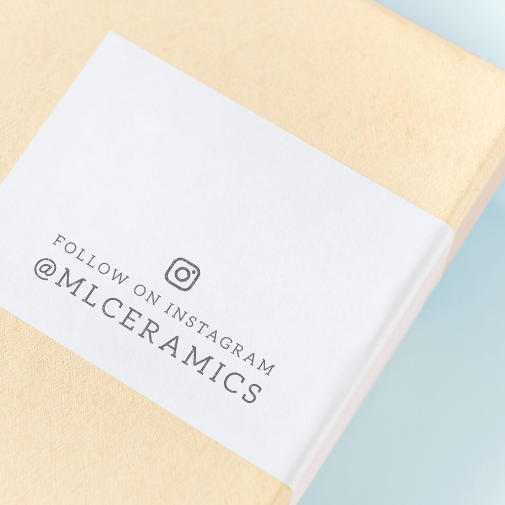 Branch Collection - Custom Social Media / Instagram Stamp by Creatiate - Custom Rubber Stamp - We make awesome rubber stamps so that you can create quick + easy, branded + professional custom packaging.