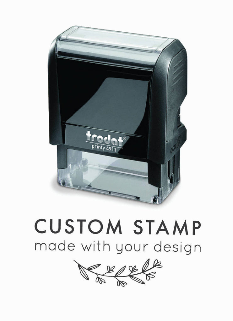 Creatiate Custom Selk-Inking Stamp, Inked Rubber Stamp made from your design by Creatiate