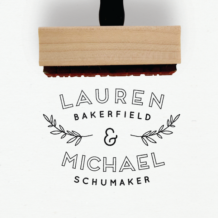 Creatiate Custom Rubber Stamps - Elegance Wedding + Logos Collection