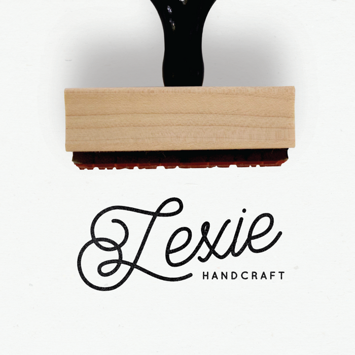 Creatiate Custom Rubber Stamps - Premade Minimalist Logo Five