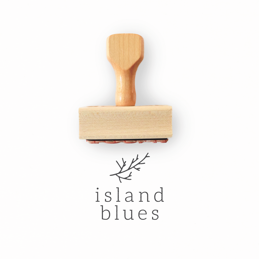 Branch Collection - Minimalist Custom Logo Stamp by Creatiate - Custom Rubber Stamp - We make awesome rubber stamps so that you can create quick + easy, branded + professional custom packaging.