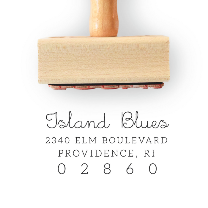 Branch Collection Custom Return Address Stamp by Creatiate - Custom Address Stamp - Rubber Stamp - We make awesome rubber stamps so that you can create quick + easy, branded + professional custom packaging.