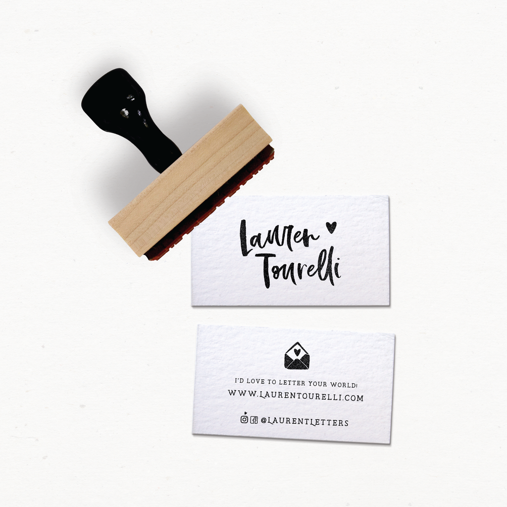 The Calli Collection : Business Card