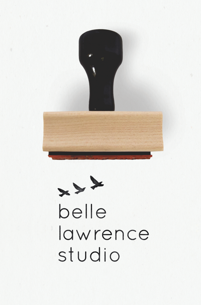 For The Birds Collection : Rubber Stamps for Small Business by Creatiate