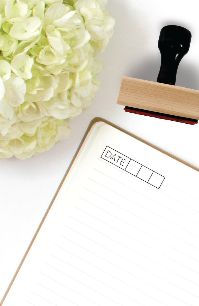 Creatiate Rubber Stamps -- Fill in the Blank Date Stamp
