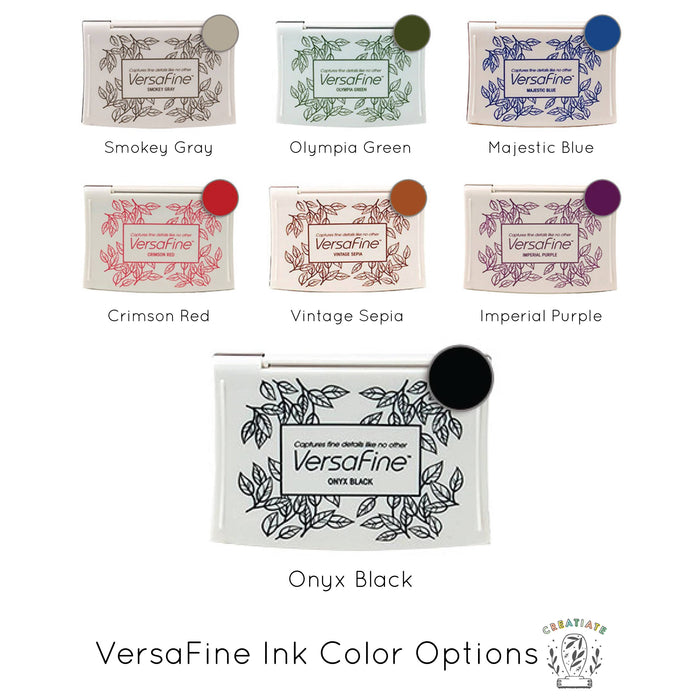 VersaFine Ink Pad for your Creatiate Stamps