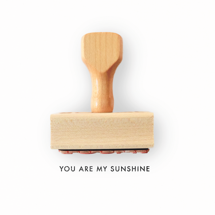 You Are My Sunshine - Rubber Stamp by Creatiate