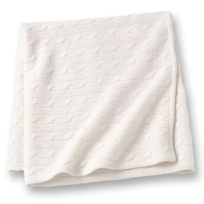 Angel Baby Blanket Ivory