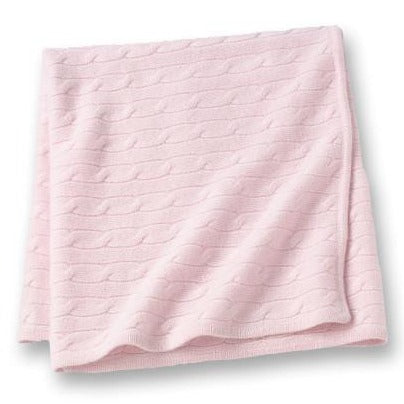 Angel Baby Blanket Soft Pink