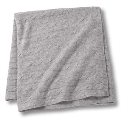 Angel Baby Blanket Gray