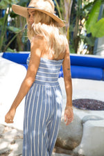 Shasta Love Stripe Jumpsuit (LB)