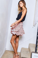 The Sheena Skirt-Coral