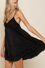 The Tolino Tunic-Black