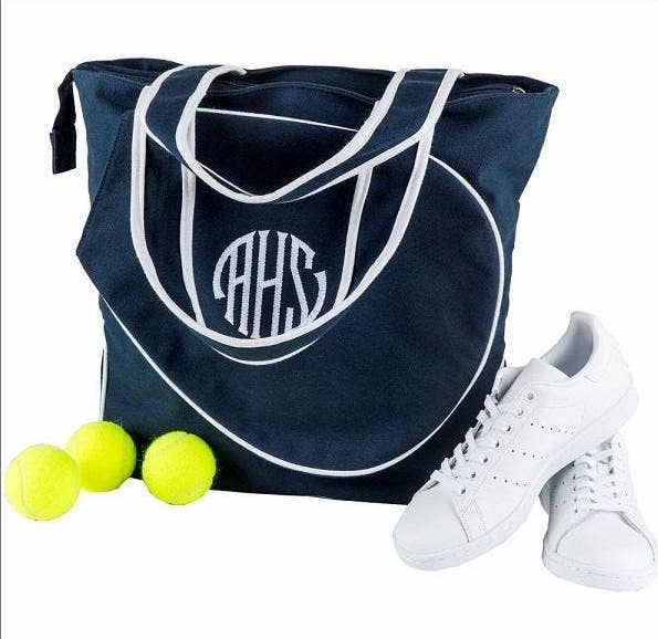 Tennis Tote with Optional Customization