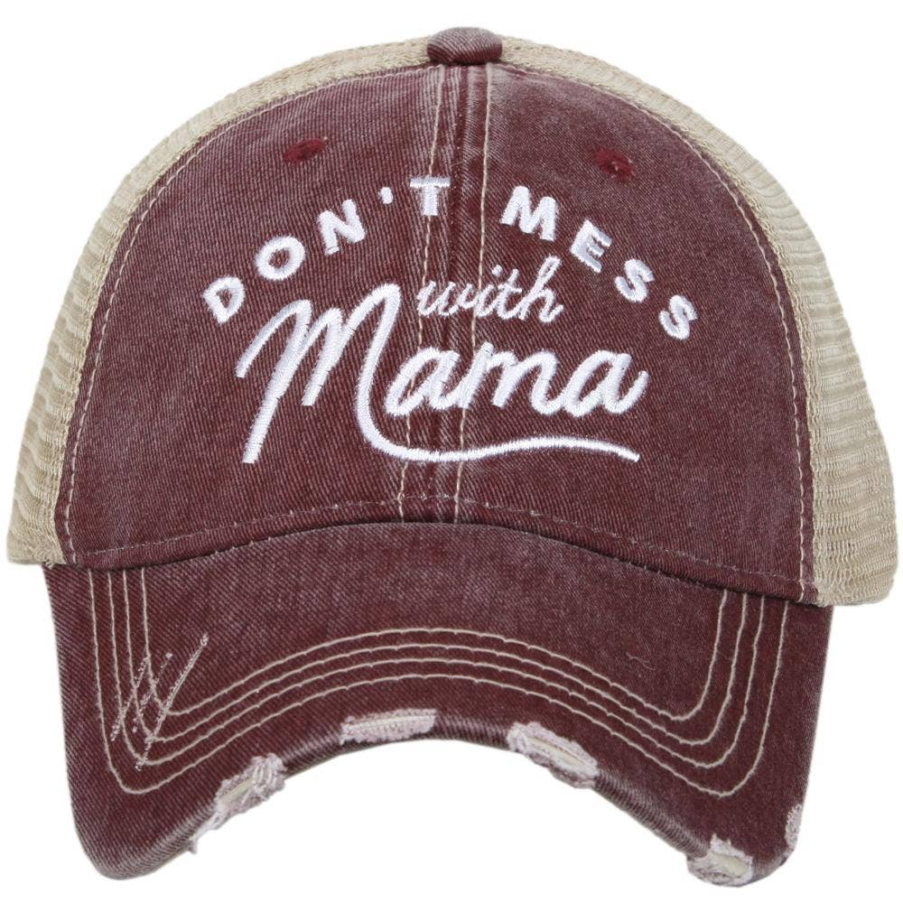 Don't Mess with Mama Trucker Hat