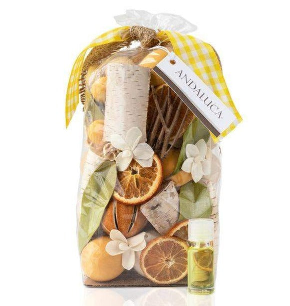 Lemon Zest and Thyme Potpourri