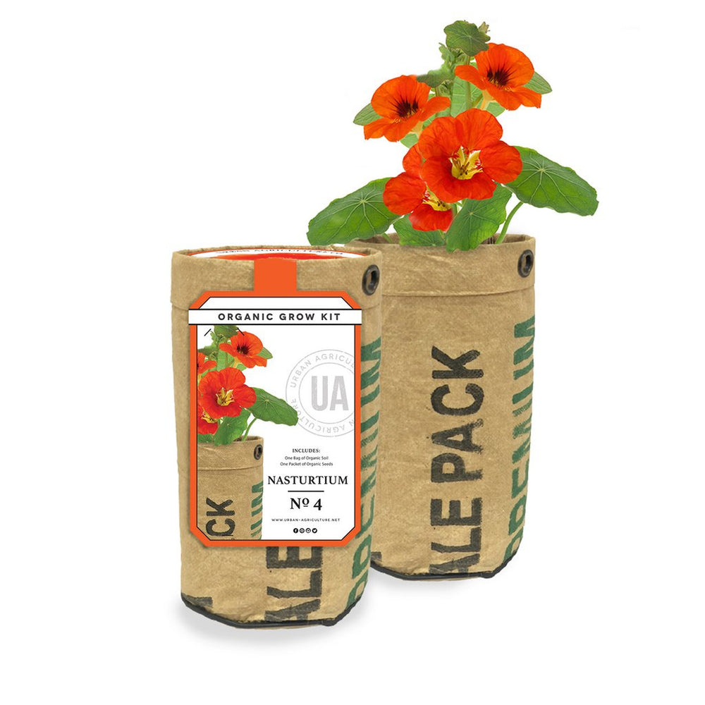 Organic Grow Kit - Nasturtiums