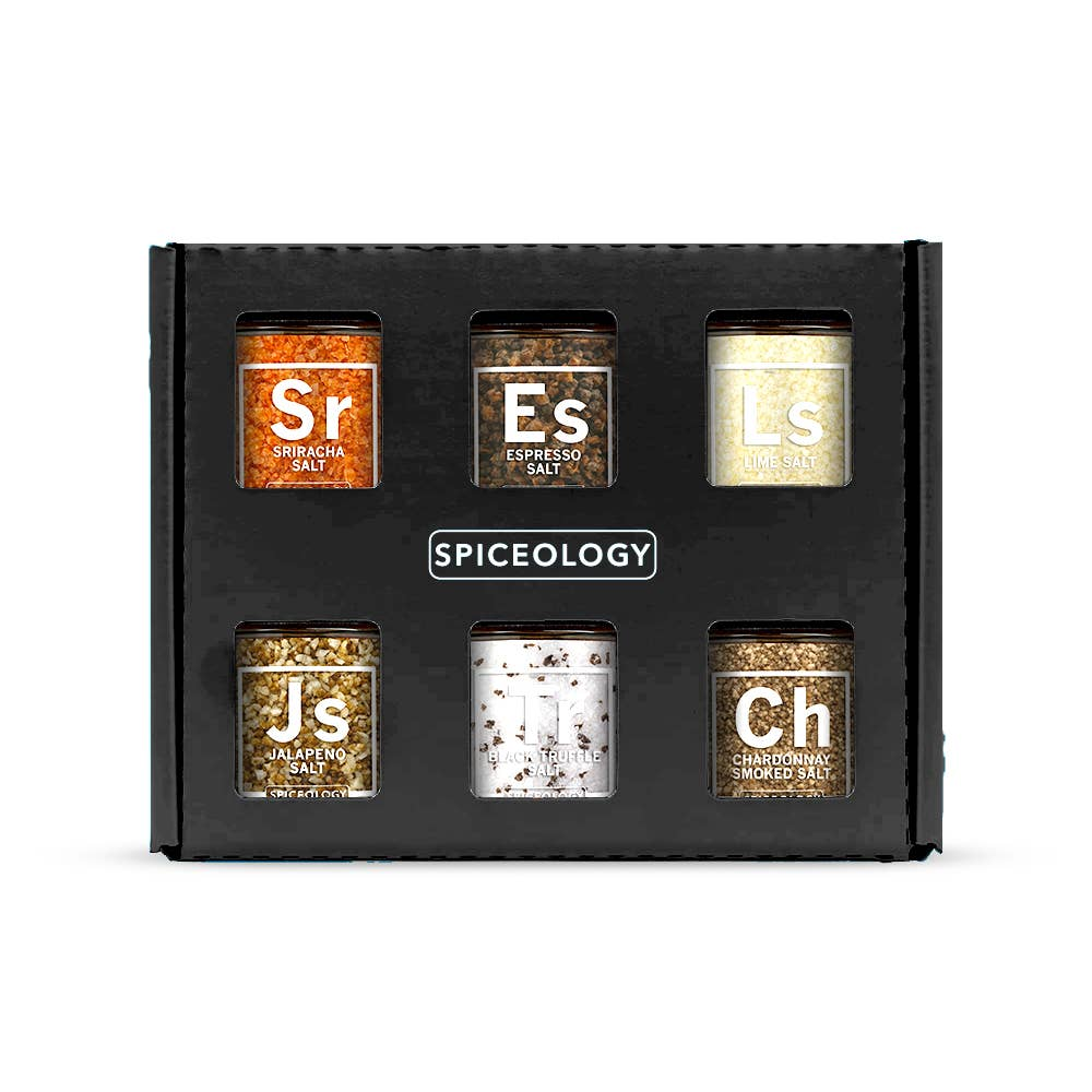 Spiceology - Luxe Infused Salt Gift Set