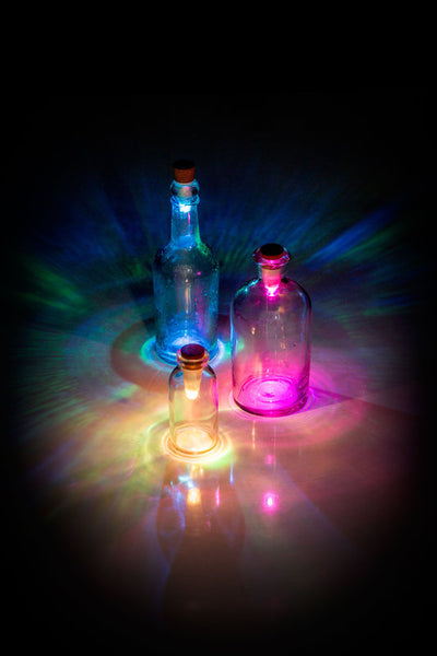 Suck UK - USB Rechargeable Multicolored Bottle Light