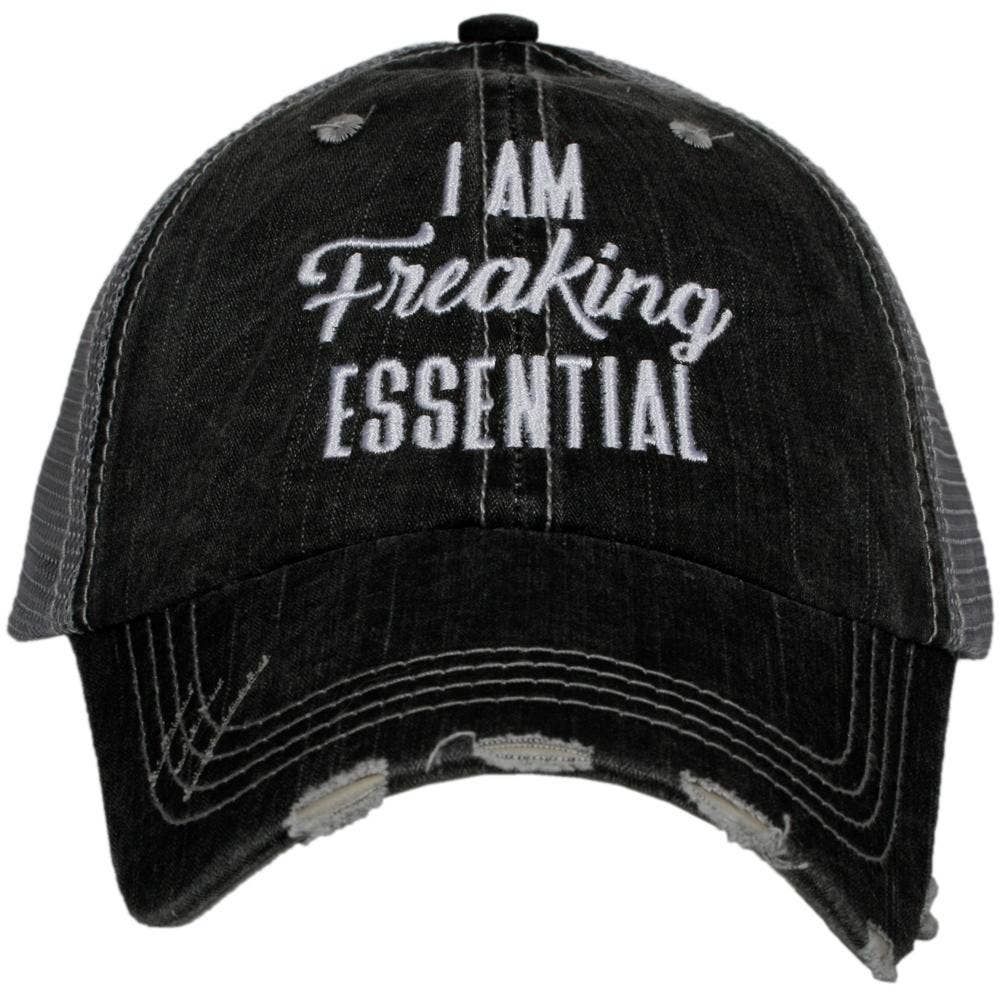 I Am Freaking Essential Wholesale Women's Trucker Hat