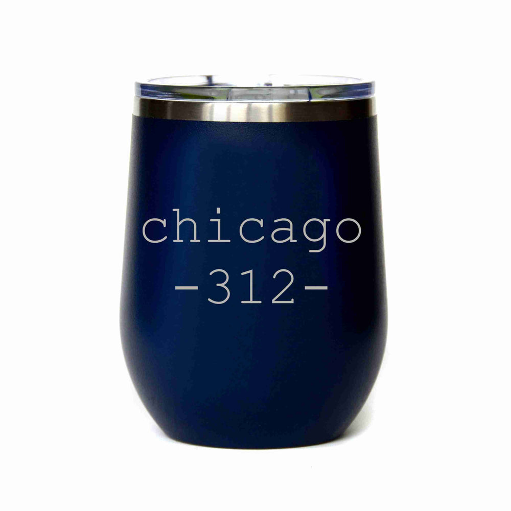 Customizable Tumbler City and Zip Code Tumbler