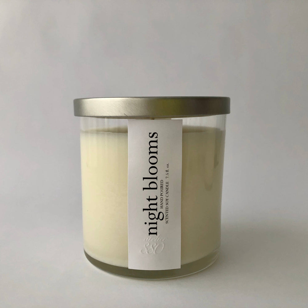Night Blooms Scented Candle