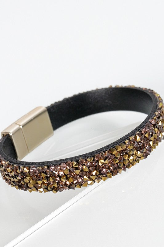 Glitter Stone Bracelets l Choose Color