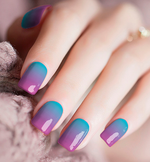 Ombre Nail Polish Sticker