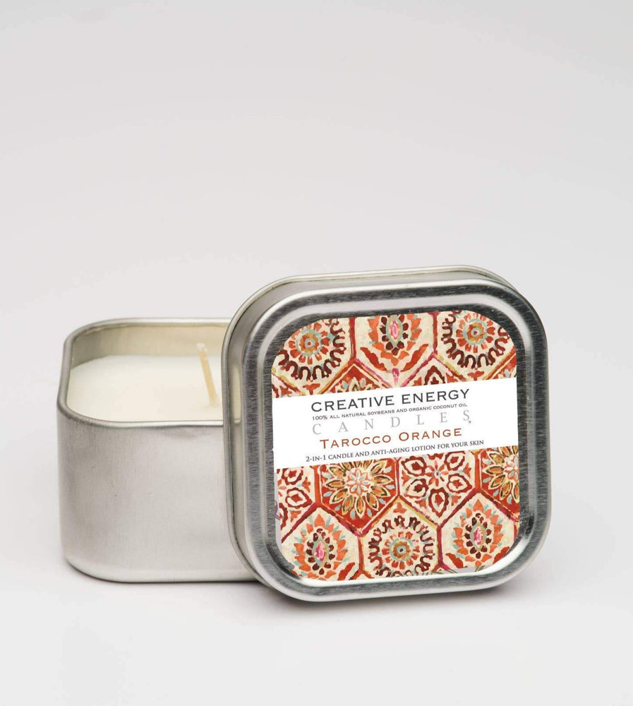 Tarocco Orange: 2-in-1 Soy Lotion Candle