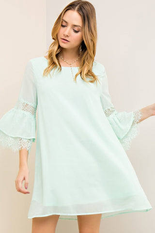 The Amalia Dress- Mint