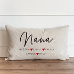 Mom/Grandma/Nana/ Nonna Personalized PILLOW