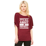 It's All About Football T-Shirt- PREORDER