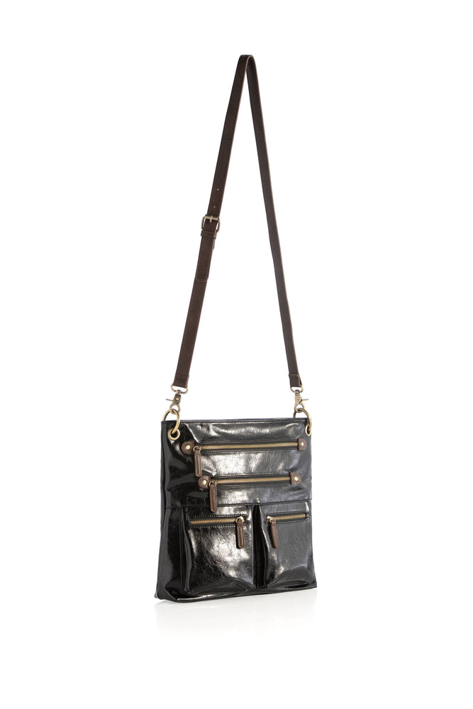 Harper with Cross Body - Black