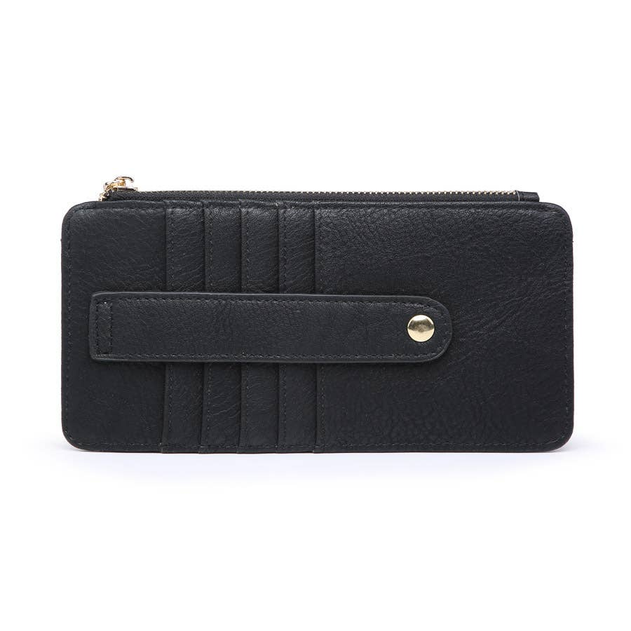 Black Slim Card Holder Wallet