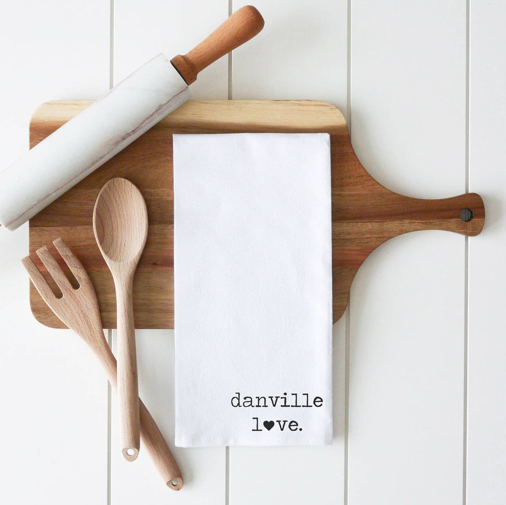 Danville LOVE Kitchen Towel D2