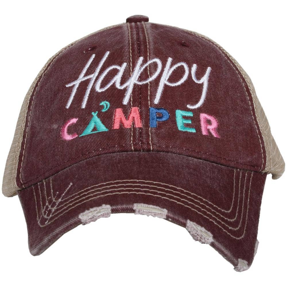Happy Camper with Moon Wholesale Trucker Hats