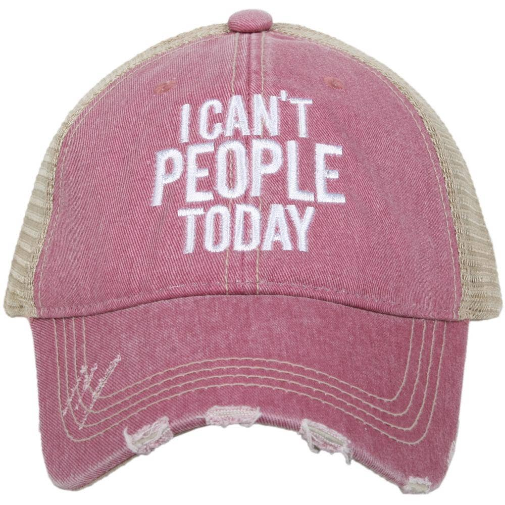 Can't People Trucker Hat