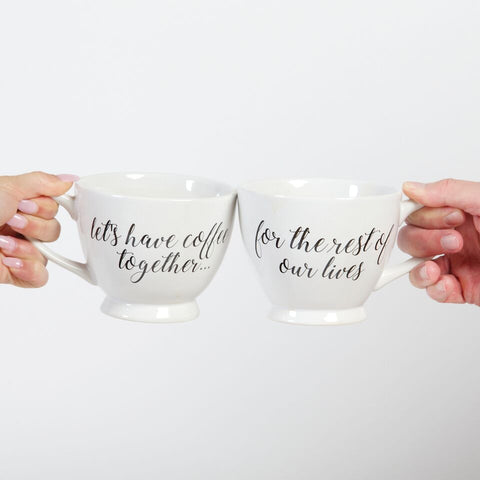 Rest Lives Coffee Mug Set