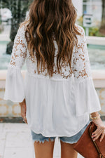 The Helena Top-White