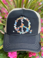 Butterfly Cotton Twill/Mesh Back Trucker Hat