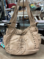 Paulina Quintana Leather Hobo Bag