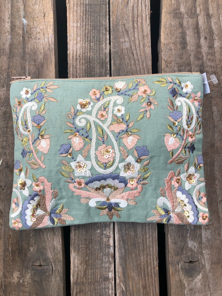 Paisley Cosmetic Bag ~Choose Color