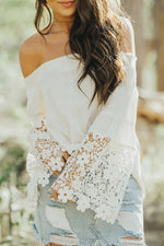 Oslo Off The Shoulder Top -White