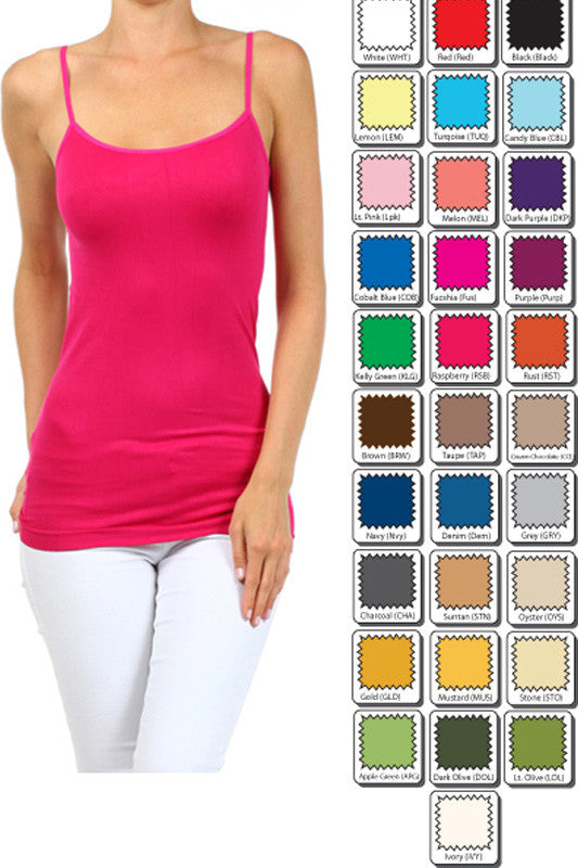 Seamless Tank Tops (Multiple Colors)